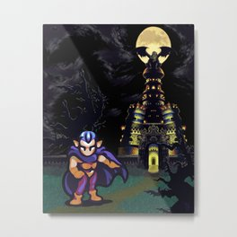 Magus Castle w/Magus Metal Print