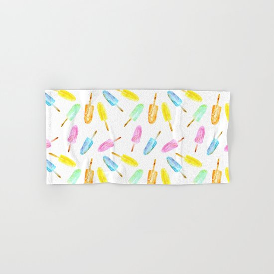 Ice lollies Hand & Bath Towel