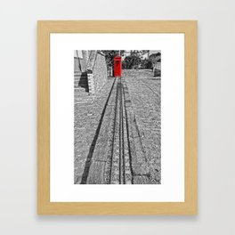 Train Line Framed Art Print