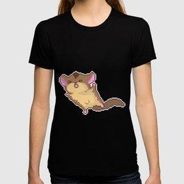 cute squirrel fly T-shirt