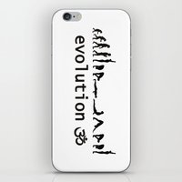evolution iPhone & iPod Skins featuring evolution by Maria Durgarian