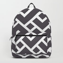 Monochrome Intricate Pattern Gamma Backpack