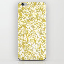 Golden Doodle petals iPhone Skin
