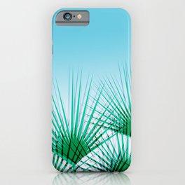 Airhead - memphis throwback retro vintage ombre blue palm springs socal california dreamer pop art iPhone Case