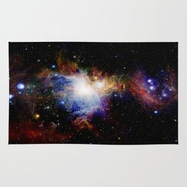 Orion NebulA Colorful Full Image Rug