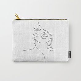 Woman in One Line II Carry-All Pouch