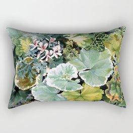 Geraniums Galore Rectangular Pillow