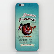 James BROWNIE! iPhone & iPod Skin
