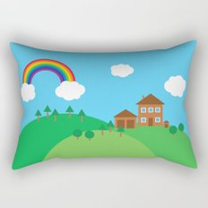 We Love This Place Rectangular Pillow