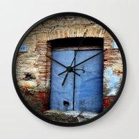 door Wall Clocks featuring door by  Agostino Lo Coco