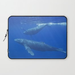 Humpback Whales Laptop Sleeve