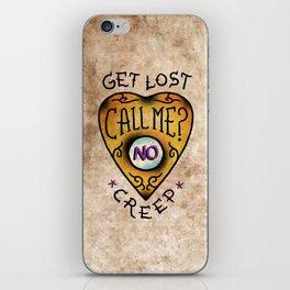Get Lost! iPhone Skin