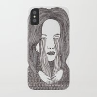 aquarius iPhone & iPod Cases featuring Aquarius by Samantha Dolan