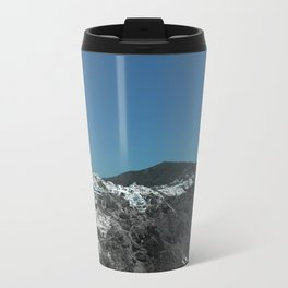 Santorini, Greece 4 Travel Mug