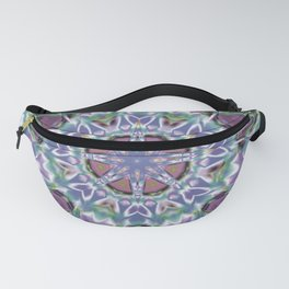 Abstract Flower AA YY QQ Fanny Pack