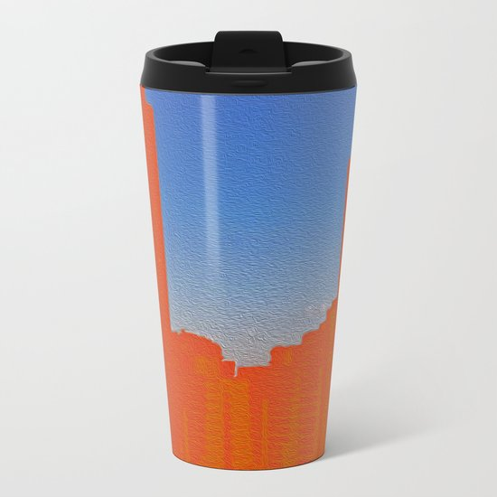 Skyline Metal Travel Mug