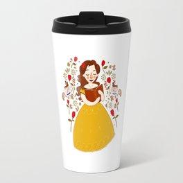 Rumbelle - Belle bookworm Travel Mug