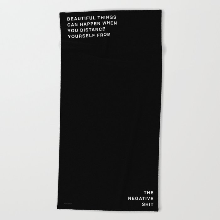 BEAUTIFUL THINGS Beach Towel
