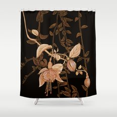 golden botanics Shower Curtain