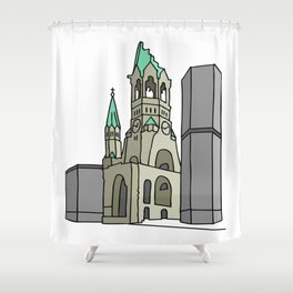 Kaiser Wilhelm Memorial Church Shower Curtain