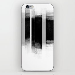 Black and White Retro Style Geometric Abstract - Codex iPhone Skin