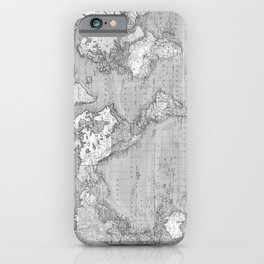Atlas of the World iPhone Case