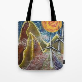 Windy Day in Tucker County Tote Bag
