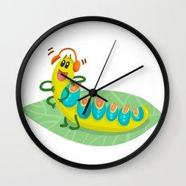 Poisonous Caterpillars Wall Clock