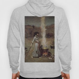 The Magic Circle, John William Waterhouse Hoody