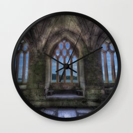 Chapter House Interior Wall Clock