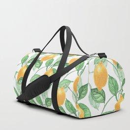 Lemon Garden Duffle Bag