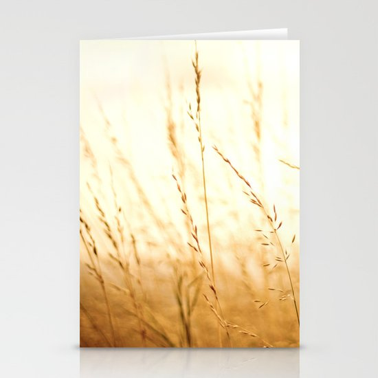 Fields of Bronze Stationery Cards
