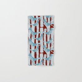 For the Birds and Birch Trees Hand & Bath Towel