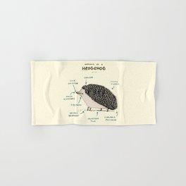 Anatomy of a Hedgehog Hand & Bath Towel