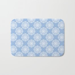 Kitchen cutlery blue Bath Mat