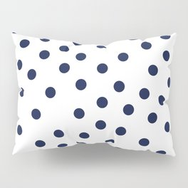 Simply Dots in Nautical Navy Pillow Sham