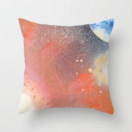 A Moon's Destruction Throw Pillow