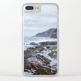 Low Tide Along the Oregon Coast Clear iPhone Case