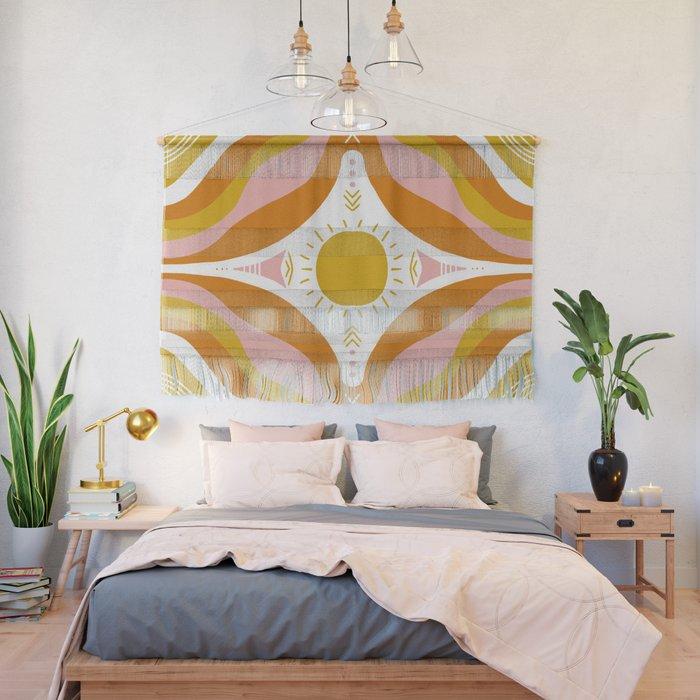 sunshine mandala Wall Hanging