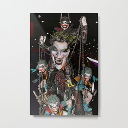 Joker Conquers The Bat Metal Print