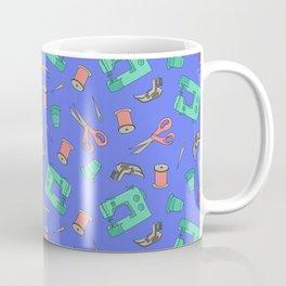 Sewing (periwinkle) Coffee Mug