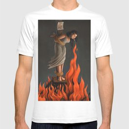Keep Cool Oil Painting T-shirt