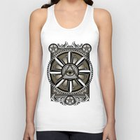 all seeing eye Tank Tops featuring All Seeing Eye by Pancho the Macho