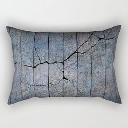 Cracked Wall Texture Rectangular Pillow
