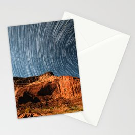 Stars on the Cliffside Stationery Cards