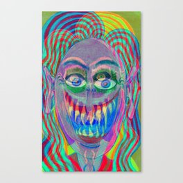 Too much of a good thing Canvas Print