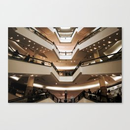 Malaysian Shopping Mall Canvas Print