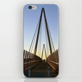 on the bridge iPhone Skin
