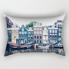 Street in Amsterdam Rectangular Pillow