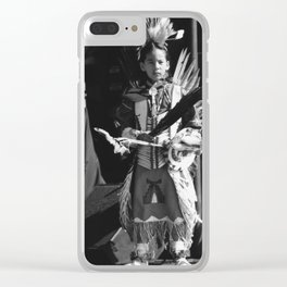 Ready for the stage Clear iPhone Case